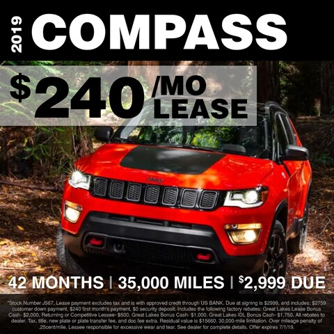 Fox Lease Special: $240/mo for 42 months, $2,999 Total Due at Signing