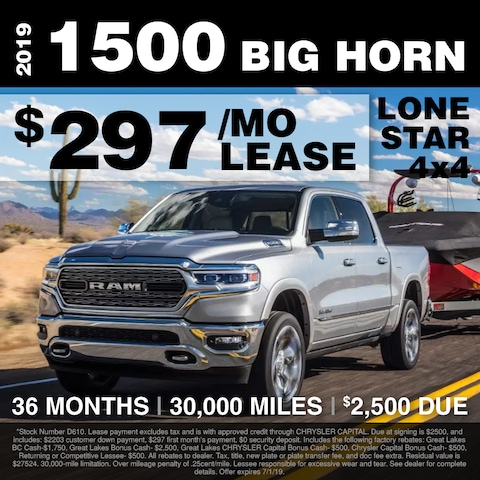 Fox Lease Special: $297/mo for 36 months, $2,500 Total Due at Signing