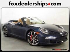 2014 Porsche 911 Carrera S Convertible