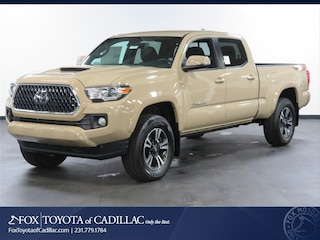 New 2019 Toyota Tacoma TRD Sport V6 Truck Double Cab T2800 in Cadillac, MI