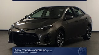 Used 2017 Toyota Corolla SE Sedan in Cadillac, MI