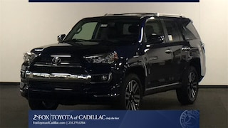 New 2018 Toyota 4Runner Limited SUV T2709 in Cadillac, MI