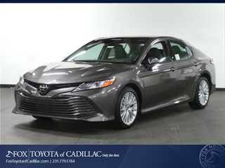 New 2018 Toyota Camry XLE Sedan T2417 in Cadillac, MI