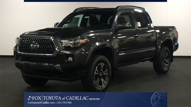 New 2019 Toyota Tacoma TRD Sport V6 Truck Double Cab T2791 in Cadillac, MI