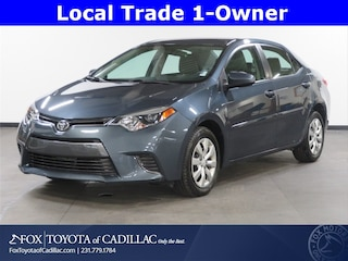 Used 2015 Toyota Corolla LE Sedan in Cadillac, MI