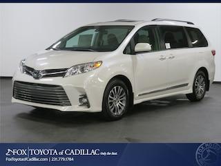New 2019 Toyota Sienna XLE Premium 8 Passenger Van T2823 in Cadillac, MI