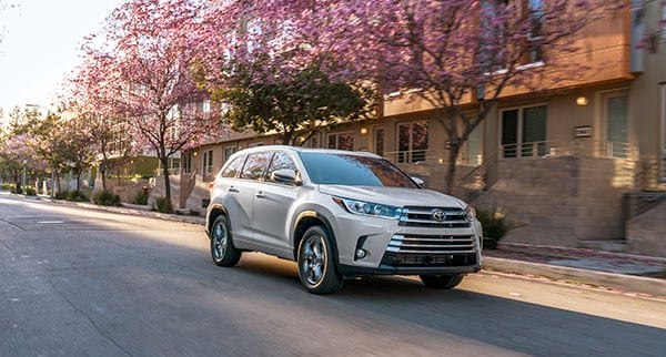2018 Toyota Highlander Performance