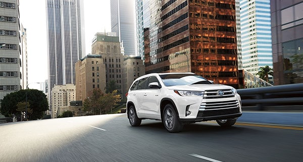 2018 Toyota Highlander Design