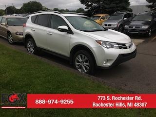 Used 2013 Toyota RAV4 Limited SUV Rochester Hills
