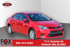 Used 2016 Toyota Corolla LE Sedan Rochester Hills