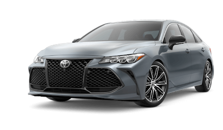 A grey 2019 Toyota Avalon