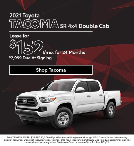 New 2021 Toyota Tacoma   Lease
