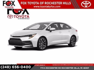 New 2020 Toyota Corolla XSE Sedan for Sale in Rochester Hills