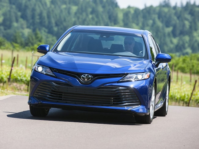 New 2019 Toyota Camry LE Sedan Rochester Hills