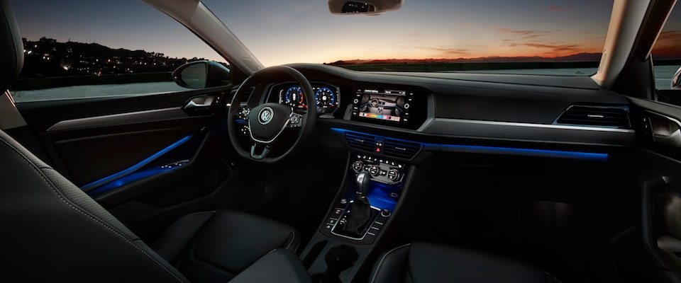 The dashboard of a 2019 Volkswagen Jetta