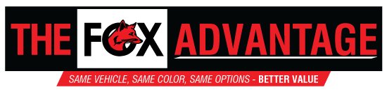 The Fox Advantage logo banner