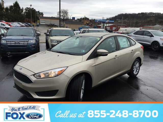 2018 Ford Focus SE Sedan