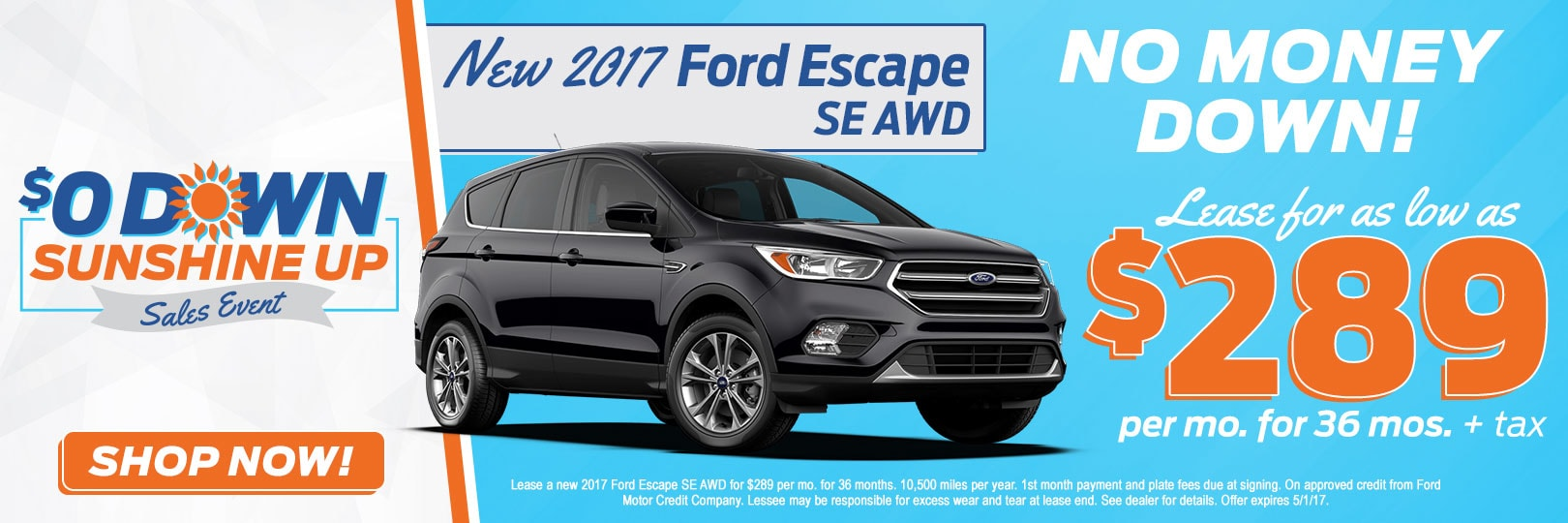 2017 ford escape se 289 mo at fox ford