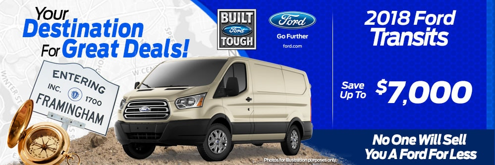 2018 Ford Transit Van Special at Framingham Ford