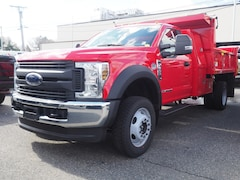 2019 Ford F-550 Dump Truck Regular Cab