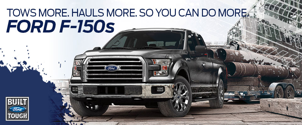 Ford F-150s at Framingham Ford
