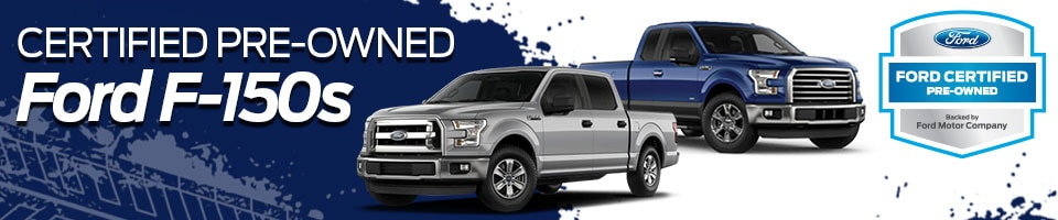 Certified Pre-Owned F-150s at Framingham Ford