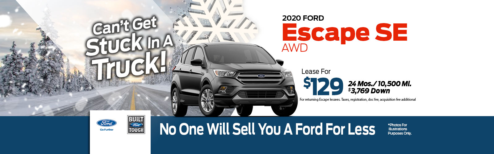 Ford Escape Lease Special at Framingham Ford
