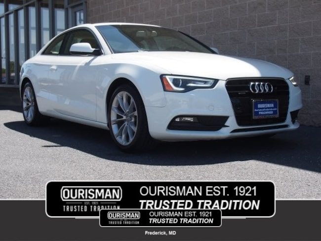 2013 Audi A5 2.0T Premium Plus Coupe