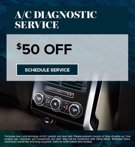 A/C DIAGNOSTIC SERVICE