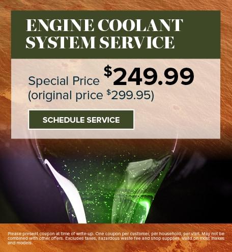 September   Engine Coolant System Service