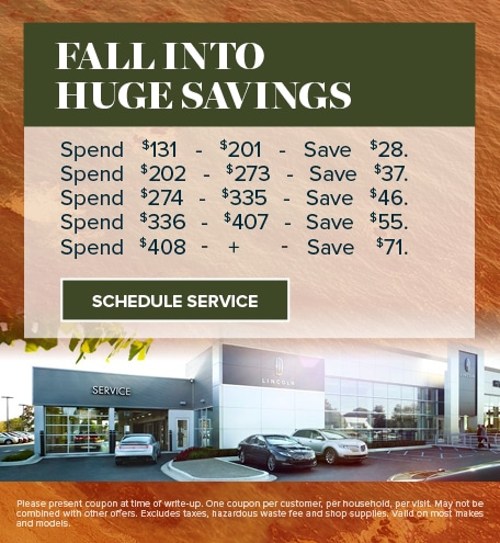 September   Fall Savings