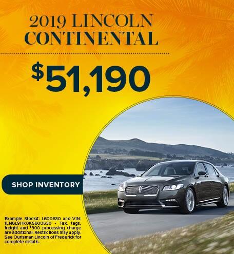 June | 2019 Lincoln Continental