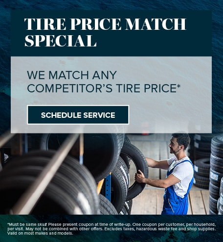 TIRE PRICE MATCH SPECIAL