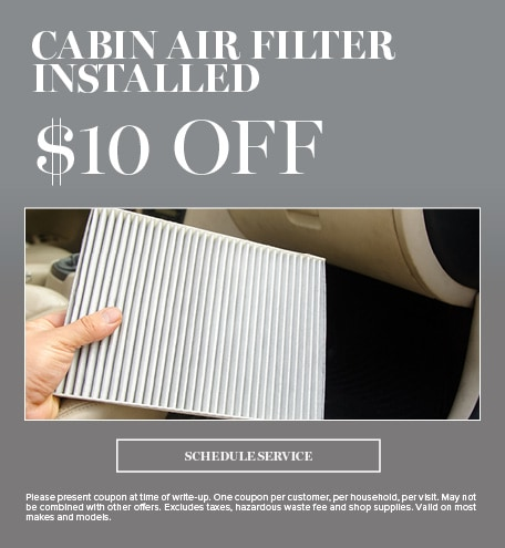 Cabin Air Filter Installed