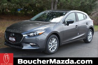 New Mazda vehicles 2018 Mazda Mazda3 Sport Hatchback for sale near you in Racine, WI
