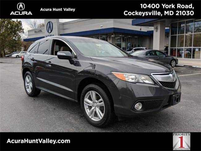 Used 2015 Acura Rdx For Sale At Acura Hunt Valley Vin