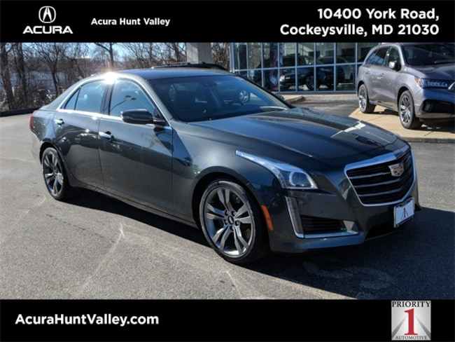 2015 CADILLAC CTS 3.6L Twin Turbo Vsport Sedan