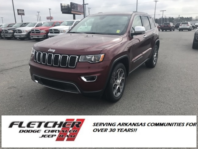 New 2019 Jeep Grand Cherokee LIMITED 4X2 Sport Utility 1C4RJEBG9KC673558 For Sale in sherwood AR