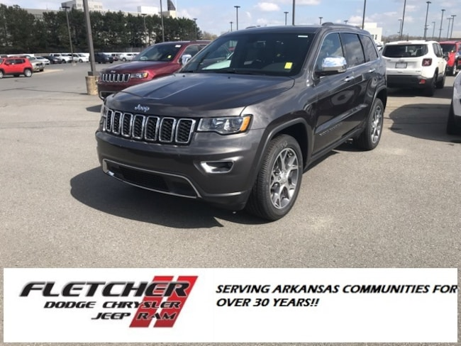 New 2019 Jeep Grand Cherokee LIMITED 4X2 Sport Utility 1C4RJEBG9KC673561 For Sale in sherwood AR