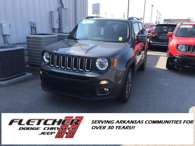 New 2018 Jeep Renegade LATITUDE 4X2 Sport Utility ZACCJABB6JPJ18867 For Sale in sherwood AR