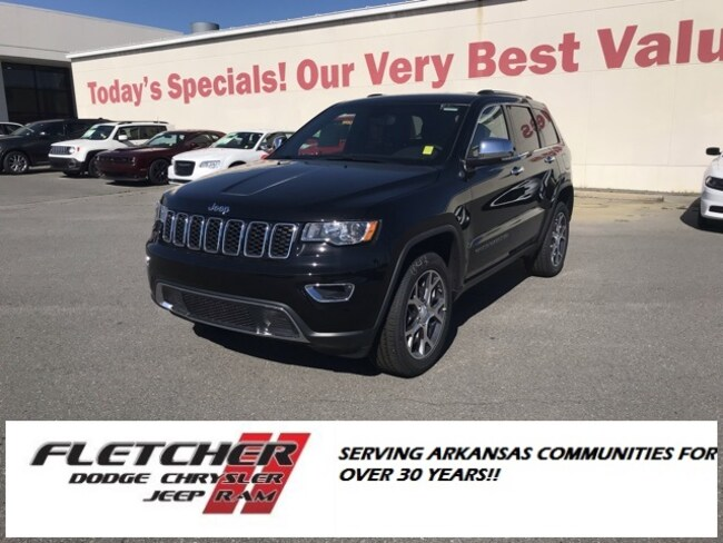 New 2019 Jeep Grand Cherokee LIMITED 4X4 Sport Utility 1C4RJFBG5KC670632 For Sale in sherwood AR