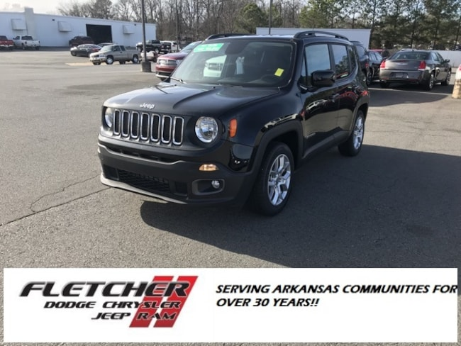 New 2018 Jeep Renegade LATITUDE 4X2 Sport Utility ZACCJABB8JPJ21656 For Sale in sherwood AR