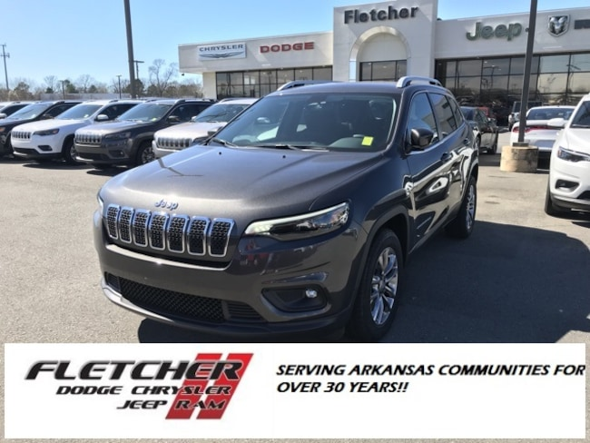 New 2019 Jeep Cherokee LATITUDE PLUS FWD Sport Utility 1C4PJLLB5KD403512 For Sale in sherwood AR