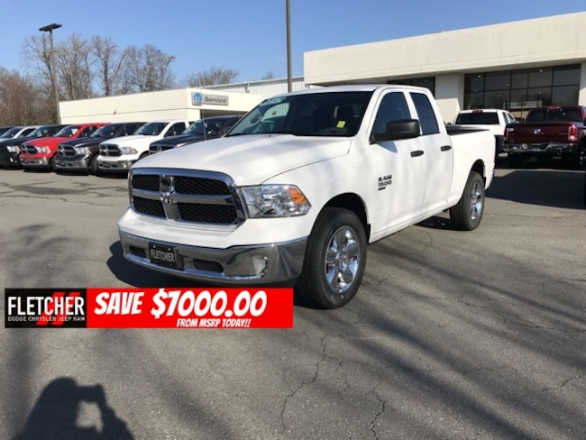 New 2019 Ram 1500 CLASSIC TRADESMAN QUAD CAB 4X2 6'4 BOX Quad Cab 1C6RR6FG4KS524223 For Sale in sherwood AR