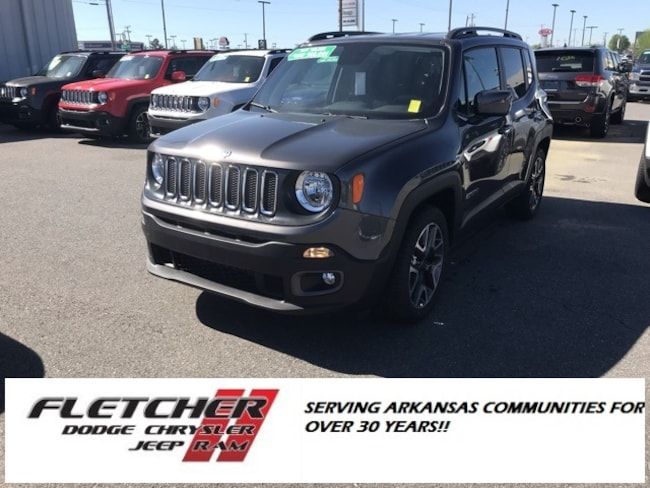 New 2018 Jeep Renegade LATITUDE 4X2 Sport Utility ZACCJABB3JPJ58839 For Sale in sherwood AR