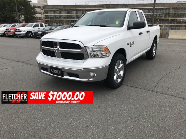 New 2019 Ram 1500 CLASSIC TRADESMAN QUAD CAB 4X2 6'4 BOX Quad Cab 1C6RR6FG9KS530325 For Sale in sherwood AR