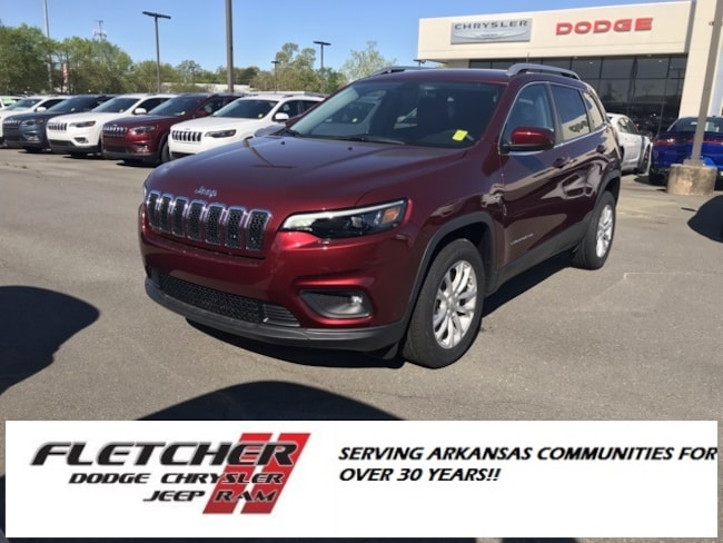 New 2019 Jeep Cherokee LATITUDE FWD Sport Utility 1C4PJLCB0KD376591 For Sale in sherwood AR