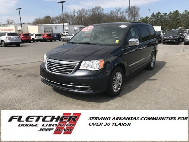 Pre-Owned 2013 Chrysler Town & Country Touring-L Minivan/Van 2C4RC1CG7DR692511 For Sale in sherwood AR