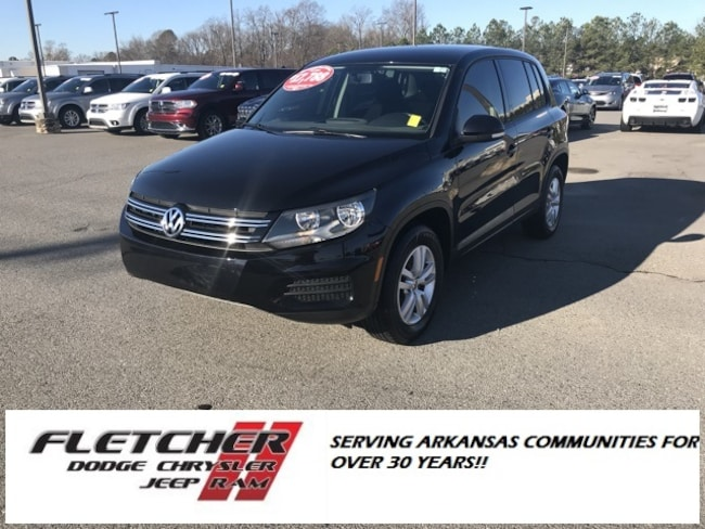 Pre-Owned 2014 Volkswagen Tiguan SE SUV WVGBV3AX0EW592894 For Sale in sherwood AR