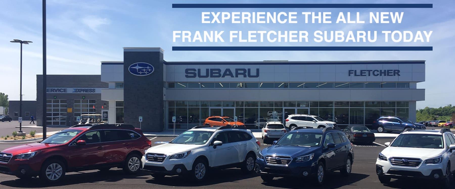 Subaru Dealership Kansas City >> Frank Fletcher Subaru New 2019 2020 Subaru Used Car Dealer In